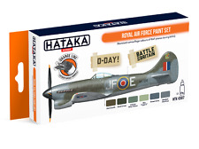 Hataka Orange Line Royal Air Force paint set HTK-CS07