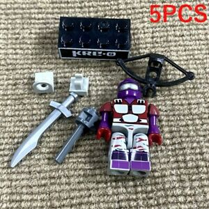 5x Kre-O Gi Joe Cobra Night Creeper Viper Minifigure Kreon Kreo Figure Kids Toy