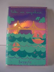 Benefit Golden Gate Passport Cover Limited Edition Iridescent Pink New Genuine