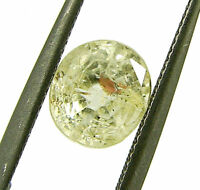 1.75 Ct Certified Natural Ceylon Yellow Sapphire Loose Untreated Stone - 133261