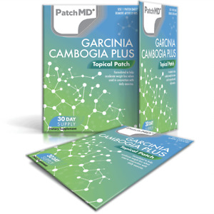 PatchMD Garcinia Cambogia Plus Topical Patch 30-Days Patch-MD Metabolism support