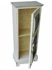 Stipetto mobiletto in legno decorato decapato vintage shabby SCONTATO