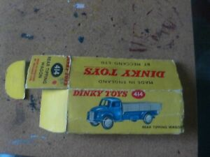 DINKY 414  TIPPING WAGON BOX