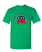 The Official Logo of Winners T-Shirt Republican Party Elephant Mens Tee Shirt