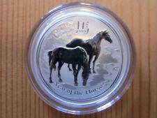 1/2 oz Silbermünze Lunar 2 Pferd (Year of the horse) 2014