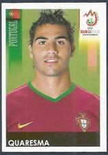 PANINI EURO 2008- #118-PORTUGAL-QUARESMA