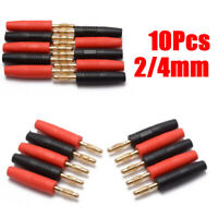 10pcs Banana Plugs Wire-welded PVC Replacement Accessories Male Practical