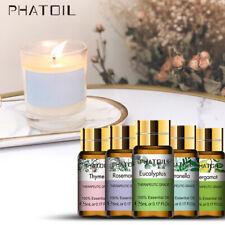Essential Oils 5ml 100% Pure Therapeutic Grade Oil For Skin Hair Soap Diffuser L