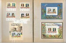 Tuvalu Briefmarken Sammlung 1985 Queen Elizabeth, 18 Seiten, Vaitupu + Andere