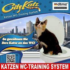 CityKatz ® WC-Training System ★ Katzentoilette ★ Katzenklo ★ WC-Sitz ★ AN-001