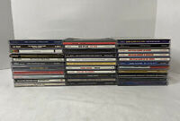 Lot of 32 Classic Older Rock Music CDs Beatles Clapton Wonder Allman Dominoes