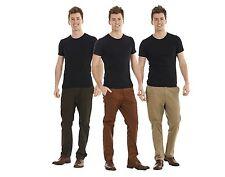 Pantalon chino pour homme casual pantalon jeans kaki pierre marron pur coton 100...