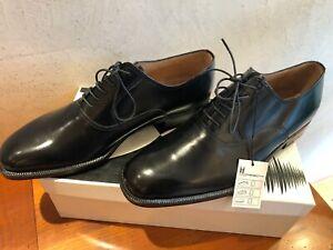 """Herren Business Schuhe """"Moreschi"""" schwarz,  Größe 10  - absolut neu! - im Karton"""