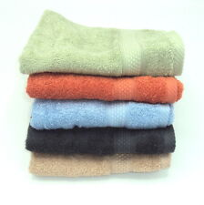 Good Quality Small Plain Hand/Guest/Gym Towels Available in 14 colours Cotton