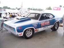 DECALS-Bill Stiles, 71 Duster ProStock Awesome! Decal skill required