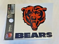 """Chicago Bears 3 x 4"""" Small Static Cling - Truck Car Auto Window Decal NEW"""