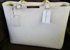 Longchamp – Le Foulonné City Tote Bag  Bag Half White médium