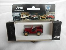 Rare Willys Jeep 60 Years Collector Edition CJ2 Roco MB Wiking HO CJ3 1/87 Toy
