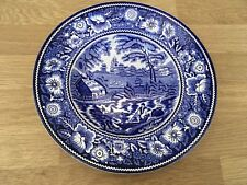 Royal Staffordshire Blue Decorative Bowl. Made In England. Hand Engraved