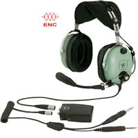 Brand New David Clark H10-13XL General Aviation ANR ENC Headset For Pilots