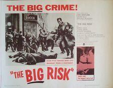 CLASSE TOUS RISQUES half sheet movie poster 22x28 JEAN-PAUL BELMONDO VENTURA