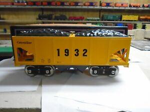 MTH 10-2184 Lionel Corp Tinplate Standard Gauge 216 Hopper Car CATERPILLAR & BOX