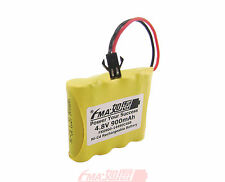 Ni-Cd AA 4.8V 900mAh Battery for radios Model Toys RC Car w/SM2P 4SB RU