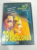 39 Escalones Alfred Hitchcock Robert Donat - DVD Region All Español Ingles 3T