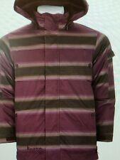 Burton TWC Cosmic Delight Snowboard Pants&Jacket Mens size XL Mocha Fade Stripe