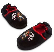 Disney Jake & the Never Land Pirates Toddler Boys Warm Comfy Slippers Sz 5/6 7/8