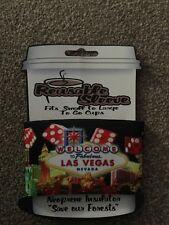 Las Vegas Reusable Cup Sleeve - Neoprene Insulation
