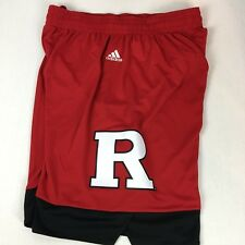 best loved ca942 61d19 Rutgers Scarlet Knights Mens Basketball Shorts Red Large NWT