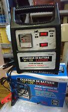 CHARGEUR DE BATTERIE 6V/12V 8 AMPÈRES  - AUTO/MOTO - NEUF