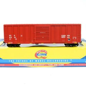 Athearn HO Scale Kansas City Southern KCS PS 5344 Cu Ft 50' Box Car 71881 Rare