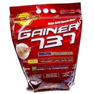GAINER 737, 3kg 3000g Neu Wey Protein Complex Mass Gainer Glutamin Muskelaufbau