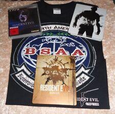 Resident Evil Paket: Spiel (PS3) + 2 Steelbooks + Shirt, Teil 5, 6, und 7