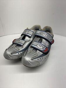 SIDI Raiden Two Strap Women's Road Bike Cycling Shoes Size 42 1/2