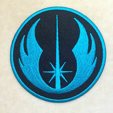 NEW JEDI ORDER STARWARS STAR WARS EMBROIDERY IRON ON PATCH BADGE #BLACK BLUE