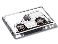 Koolart Cartoon Car Escort Van Classic Acrylic Fridge Magnet Choose a Colour