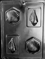 SHELL SOAP BARS MOLDS candy chocolate soaps bar molds shell