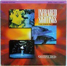 "GRATEFUL DEAD 8"" Laserdisc Infrared Sightings LD"