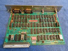 SIEMENS  03 311-A SINUMERIK ENCODER WITH 2 - X312 PORTS BOARD - 331230 (USED)***