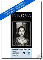 Innova FibaPrint White Gloss 300gsm Photographic Inkjet A4/50