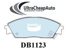 BRAKE PADS FRONT - HONDA ACCORD, CIVIC, CRX, PRELUDE & MORE, BENDIX #DB1123