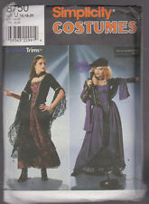 Women's Gothic  Costume  Sewing  Pattern Sz 18-20