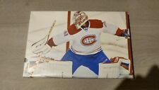 MONTREAL CANADIENS CAREY PRICE PICTURE PRINT CANVAS FRAMED 12X8 NHL ALL STAR