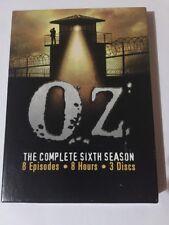 Oz - The Complete Sixth Season (DVD, 2006, 3-Disc Set)
