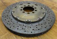 1 x KERAMIK FERRARI 458 CHALLENGE 271703 Carbon Ceramic CCM 380 x 34 mm TOP!