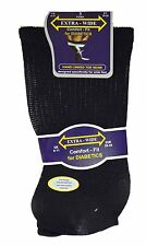 Mens Extra Wide Comfort Fit Diabetic Socks Oedema Poor Circulation Gents 6-11