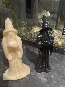 Quality Rubber Latex Mould Of A Wizard Merlin Magic Fairy Garden